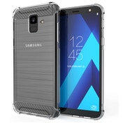 CASEFLEX SAMSUNG GALAXY A6 (2018) CARBON ANTI FALL TPU CASE - CLEAR