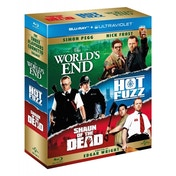 Worlds End / Shaun Of The Dead / Hot Fuzz The Three Flavours Cornetto Trilogy Box Set Blu-ray