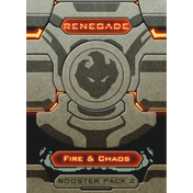 Renegade Booster Pack: Fire & Chaos