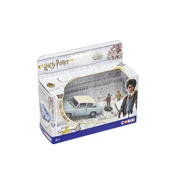 Flying Ford Anglia (Harry Potter) Corgi Die-Cast 1:43 Model Car