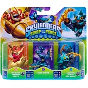 Trigger Happy, Star Strike, and Gill Grunt (Skylanders Swap Force) Triple Character Pack