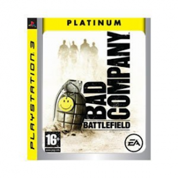 Battlefield Bad Company Game (Platinum) PS3