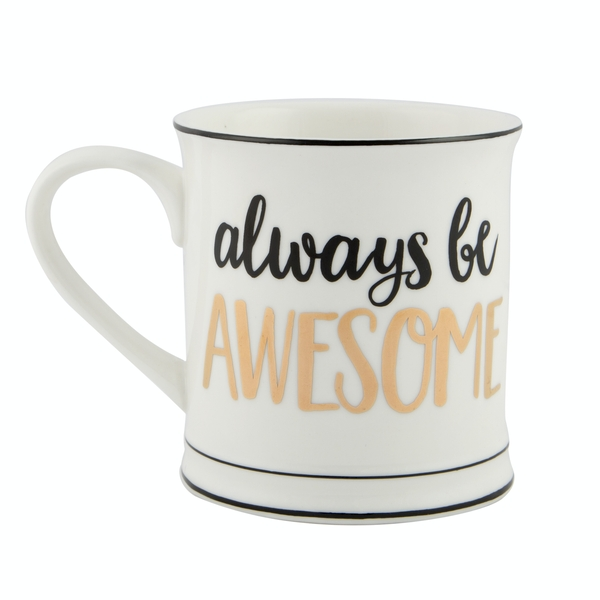 Sass & Belle Always Be Awesome Mug