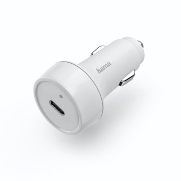 Hama | Car Charger, Power Delivery (PD)/ Qualcomm, 18 W | White