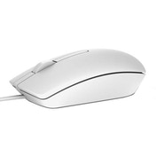 Dell MS116 Optical USB Wired Mouse - White