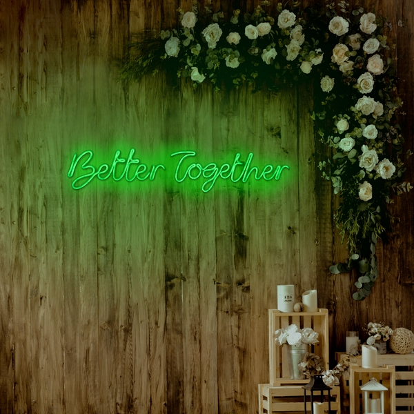 Better Together - Green Green Wall Lamp