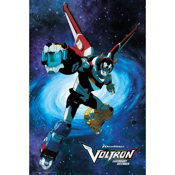 Voltron Legendary Defender Maxi Poster - Image 1