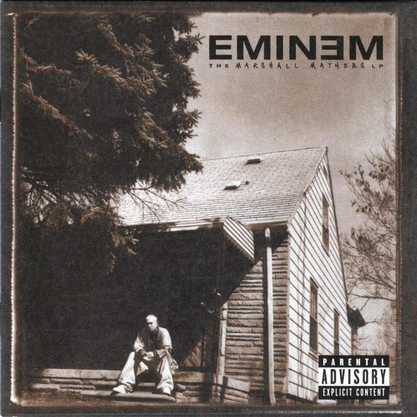 Eminem The Marshall Mathers LP CD - Image 1