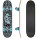 Xootz Kids Complete Beginners Double Kick Trick Skateboard Maple Deck - 31 x 8 Inches Industrial - Image 3