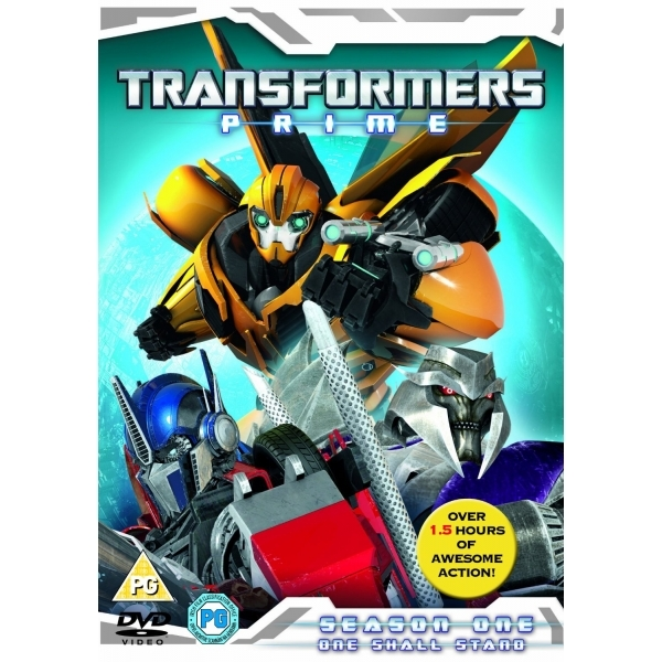 Transformers Prime - Season 1 - One Shall Stand DVD