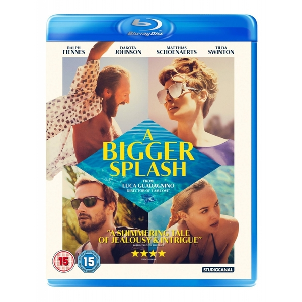 A Bigger Splash Blu-ray