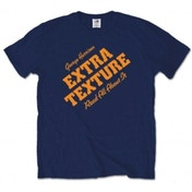 George Harrison Extra Texture Mens Navy T Shirt: Large