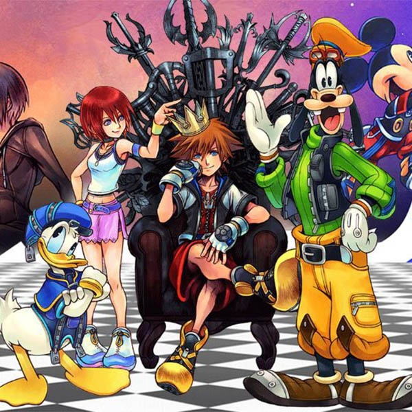 Kingdom Hearts HD 1 5 & 2 5 Remix PS4 Game