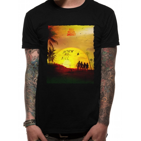 Full Metal Jacket - Sunset Men's X-Large T-Shirt - Black