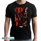 The Walking Dead - Eeny Meeny Men's X-Large T-Shirt - Black