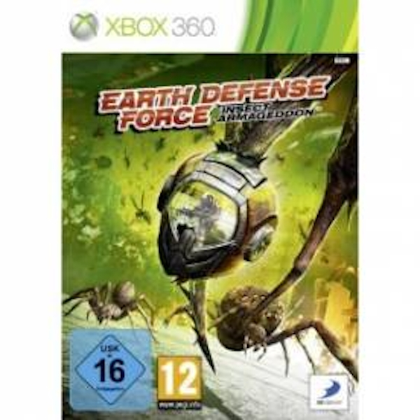 Earth Defence Force Insect Armageddon Game Xbox 360