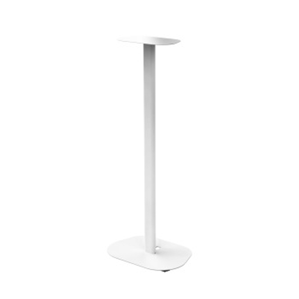 Hama Universal Speaker Stand with Exchangeable Storage Plates, white
