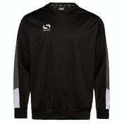 Sondico Venata Crew Sweat Adult Large Black/Charcoal/White