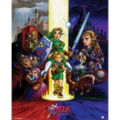 The Legend Of Zelda - Ocarina Of Time Mini Poster