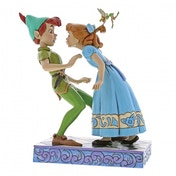 An Unexpected Kiss (Peter & Wendy 65th Anniversary Piece) Disney Traditions Figurine