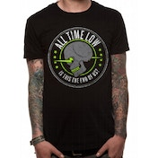 All Time Low - Is This The End Unisex X-Large T-Shirt - Black