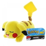 Pokemon Sleeping Lazy Pikachu 8 Inch Plush Toy