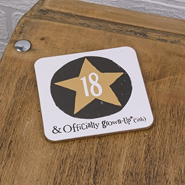 Brightside '18 & Offically Grown Up' Coaster