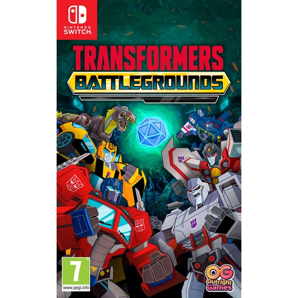 Transformers Battlegrounds Nintendo Switch Game