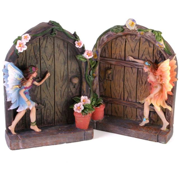 A Fairy Door Ornament Pack Of 2
