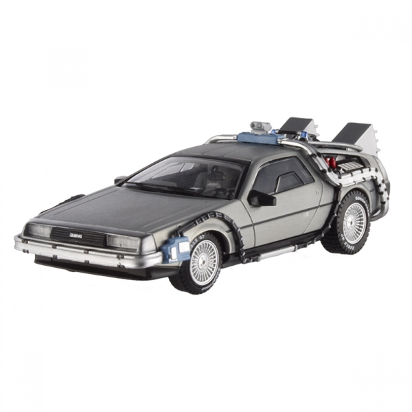 Hot Wheels 1:18 DeLorean Time Machine with Mr Fusion Diecast