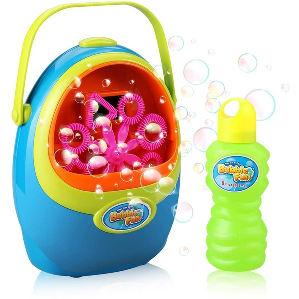 Bubble Fun - Bubble Machine Battery Operated Assorted