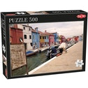Tactic Games Landscape Houses 500 Piece Jigsaw Puzzle