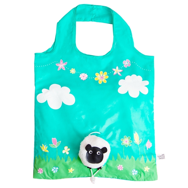 Sass & Belle Sheep Foldable Shopping Bag