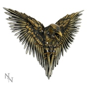Blade Raven Steampunk Wall Art