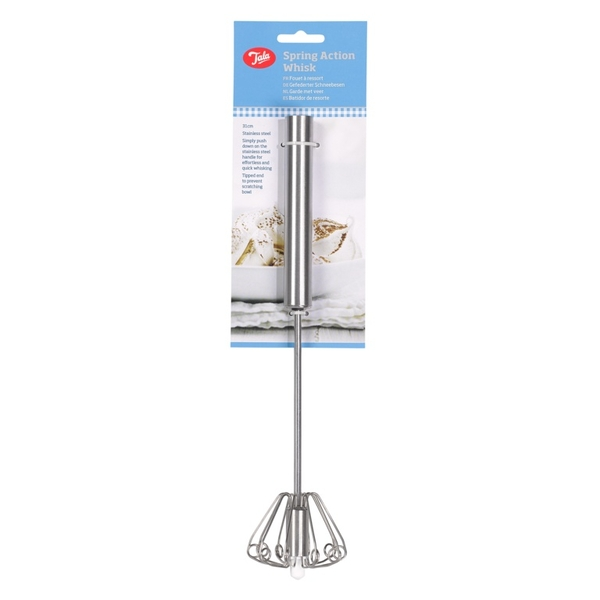 Tala Stainless Steel Spring Action Whisk