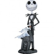 Nightmare Before Christmas Jack & Zero Bobble Head Knocker