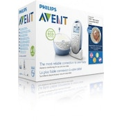 Philips AVENT DECT Baby Monitor SCD570/01 with Light - Lullabies and Vibration Alert