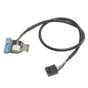 Akasa USB 3.1 Gen2 Internal Connector to USB 3.1 Gen1 19-pin Internal Adapter Cable