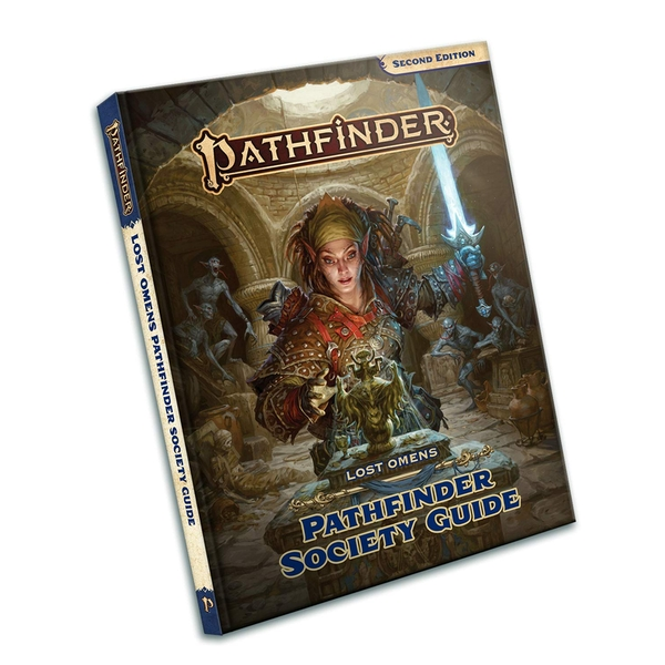 Pathfinder 2nd Edition - Lost Omens: Pathfinder Society Guide
