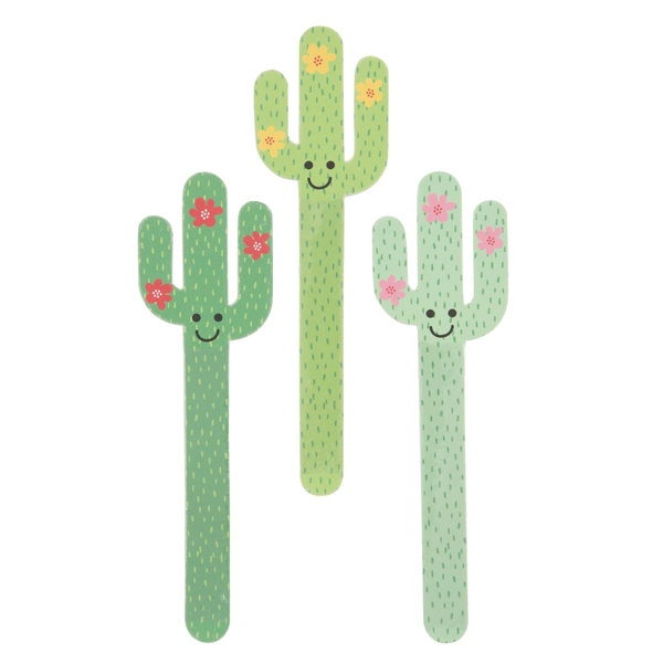 Sass & Belle Colourful Cactus (One Random Supplied) Nail File