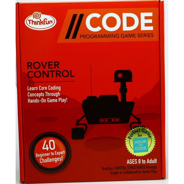 ThinkFun Code: Rover Control Board Game