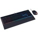 Corsair K55 Gaming Keyboard and HARPOON RGB Mouse - Black UK Layout - Image 2