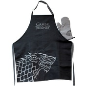 Game Of Thrones Apron and Oven Mitt Set Stark