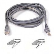 Belkin Cat5e Snagless UTP Patch Cable Grey 0.5m