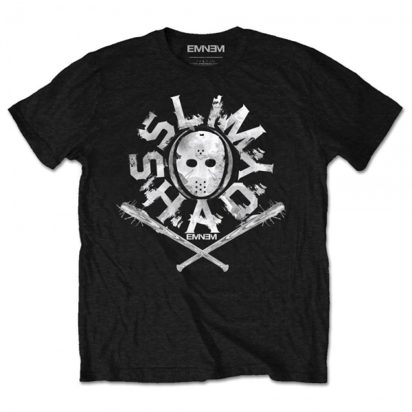 Eminem - Shady Mask Men's Small T-Shirt - Black