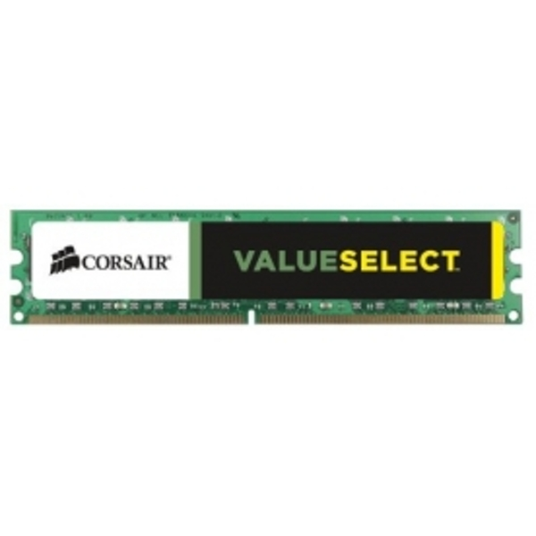 CORSAIR VALUE SELECT 4GB MODULE DDR3 1600MHz 1.5V STANDARD DIMM