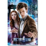 Doctor Who The Doctor & Amy Maxi Poster