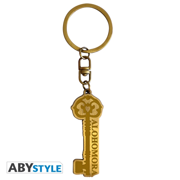 Harry Potter - Alohomora Metal Keyring