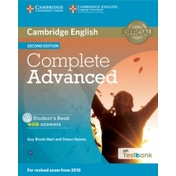 Complete Advanced Student's Book with Answers with CD-ROM with Testbank by Guy Brook-Hart, Simon Haines (Mixed media product, 2015)