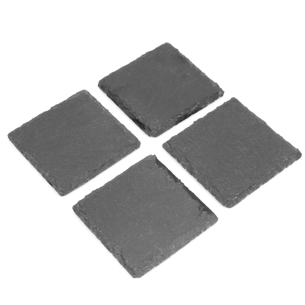 Pack of 4 Slate Coasters